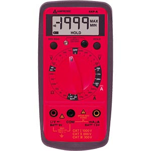 Multimeter 5XP-A, digital, 1999 Counts AMPROBE 5XP