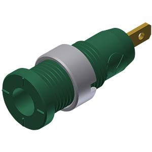 Veiligheids-labconnector, 2 mm, met platte stekker 2,8 HIRSCHMANN TEST & MEASUREMENT 975455704