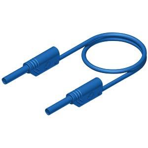 Messleitung, 2 mm, 2,0 m, blau, gesichert, stapelbar HIRSCHMANN TEST & MEASUREMENT 975698702