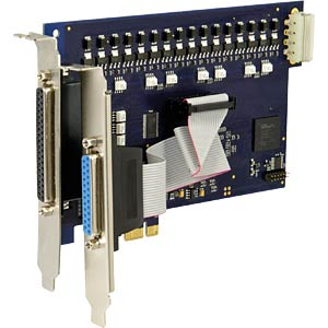 ADQ-10, PCI express digital I/O board  107162