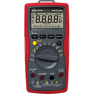 Multimeter AM-535, digital, 3999 Counts, TRMS AMPROBE 4701027
