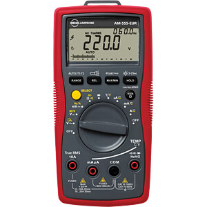 Multimeter AM-555, digitaal, 5999 counts, TRMS AMPROBE AM-555