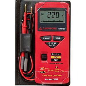 Multimeter DM78C, digital, 3200 Counts AMPROBE DM78C
