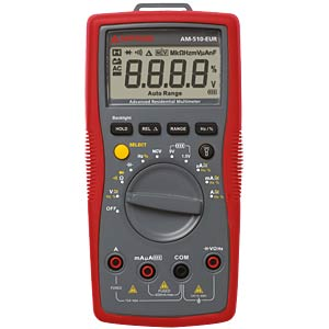 AM-510-EUR, Digital Multimeter AMPROBE 4102344