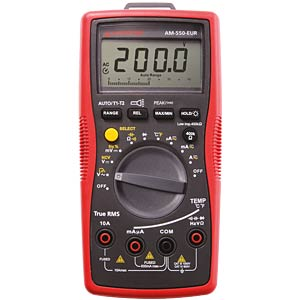 Multimeter AM-550, digital, 5999 Counts, TRMS AMPROBE 4131313