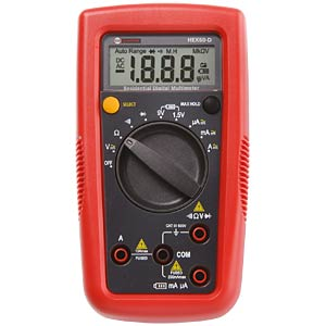 Multimeter HEX60-D, digital AMPROBE 4345574