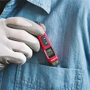 IR-450, mini infrared thermometer with torch AMPROBE 4308539