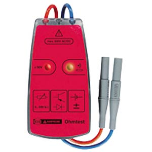 Ohm test, continuity tester AMPROBE 3454373