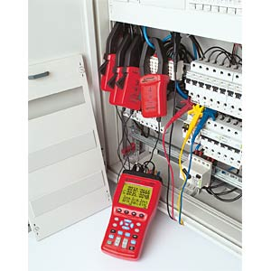 3-Phasen-Leistungs- und Energiemessung AMPROBE 3037739