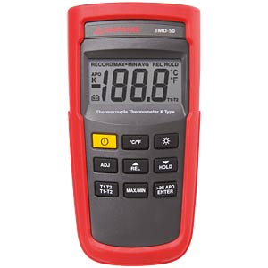 TMD-50, K-type digital thermometer, 2-channel AMPROBE 3730150