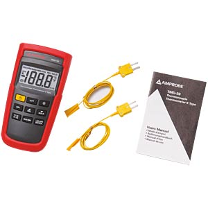 TMD-50, Digitales Thermometer Typ K, 2-Kanal AMPROBE 3730150
