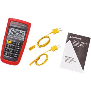 TMD-53 digital thermometer K-type / J-type, 2-channel AMPROBE 3730085