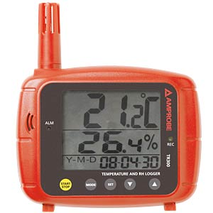 TR300, temperature/humidity data logger with digital display AMPROBE 3311844