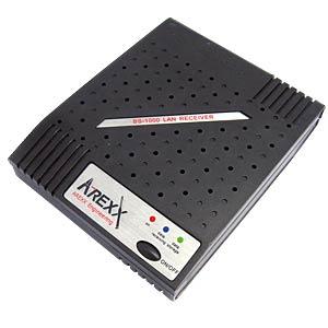 Empfänger BS-1000 LAN, für AREXX-Multilogger, LAN AREXX BS-1000LAN