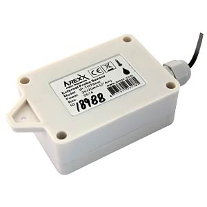 Temp./humidity sensor, waterproof AREXX IP-TH78EXT