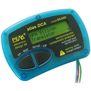Halbleitertester Atlas DCA55 PEAK ELECTRONIC DCA55
