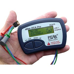 Peak Atlas DCA75 Pro PEAK ELECTRONIC DCA75 PRO