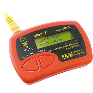 Atlas IT network cable tester PEAK ELECTRONIC UTP05