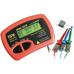 Komponententester SCR1000, für Thyristoren und Triacs PEAK ELECTRONIC SCR100