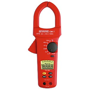 Current clamp multimeter BENNING 044059