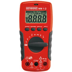 Digital handheld multimeter BENNING 044082