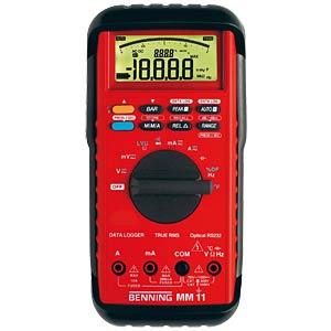 Multimeter MM 11, digital, 20000 Counts, TRMS BENNING 044080