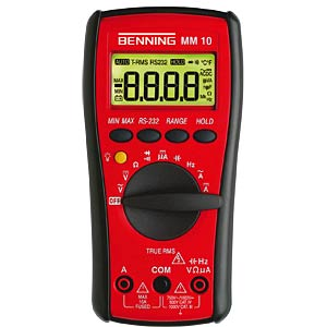 Digital handheld multimeter, MM 10, GS-tested BENNING 044079