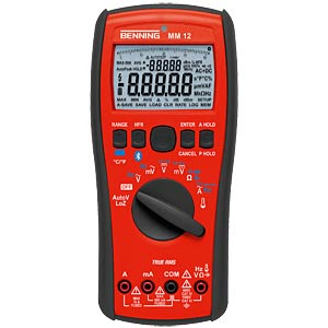 Wireless-Logging-TRMS multimeter, MM 12 BENNING 044088