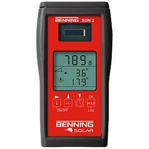 Einstrahlungs- und Temperaturmessgerät BENNING 050420