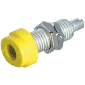 4-mm solder socket, yellow HIRSCHMANN TEST & MEASUREMENT 930175103