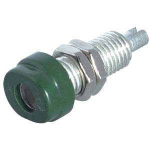 4-mm solder socket, green HIRSCHMANN TEST & MEASUREMENT 930175104