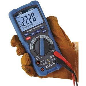 Industrial digital TRMS multimeter, 6000 counts, BT CEM DT-9663 BT