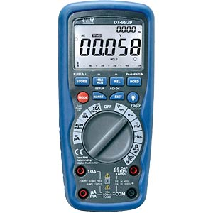 TRMS Digital-Multimeter, 4 1/2-stellig, W-USB CEM DT-9939