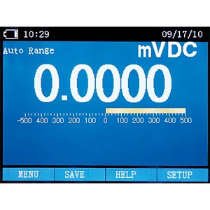 TRMS Digital-Multimeter + Oszilloskop, Bluetooth CEM DT-9989