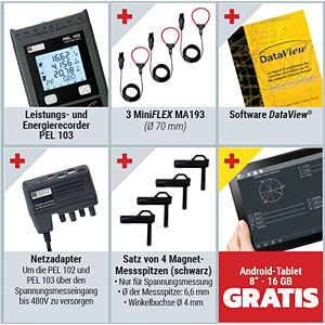 Professional energy meter PEL 103 PROMO CHAUVIN ARNOUX PEL 103