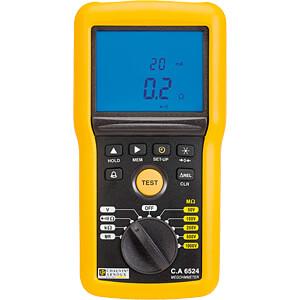 Isolationsmessgerät C.A 6524, bis 200 GOhm, bis 1 kV CHAUVIN ARNOUX P01140824
