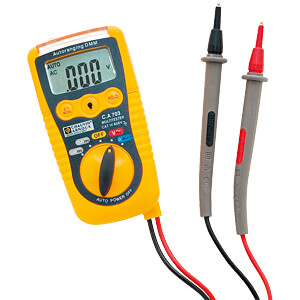 Multimeter C.A 703, digital, 2000 counts, AC/DC CHAUVIN ARNOUX P01191740Z
