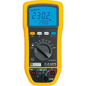 Multimeter C.A 5273, digital, 6000 counts, TRMS CHAUVIN ARNOUX P01196773