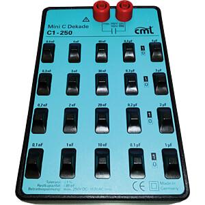 Kapzitätsdekade C1-250, 100 pF - 11,111 µF COSINUS MESSTECHNIK 1920000011