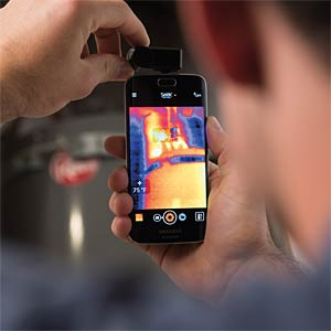 SeeK thermal imaging camera for Android, -40 to +330°C SEEK THERMAL UW-EAA