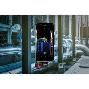 Wärmebildkamera Compact FastFrame, iOS, -40 °C ... +330 °C SEEK THERMAL LQ-EAAX