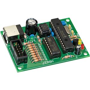 8-channel 12-bit USB data acquisition system H-TRONIC