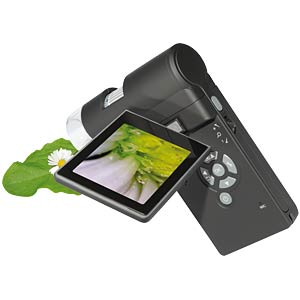 Mobile microscope camera, 500x with screen DNT 52124