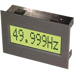 LCD-Einbaumodul, Frequenzzähler mit RS-232 Interface ELECTRONIC ASSEMBLY EA 6533-8