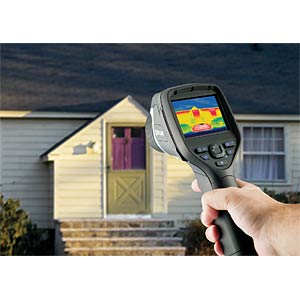 Thermal imaging camera FLIR E50BX, construction area, WiFi ECCN: FLIR 64501-0601