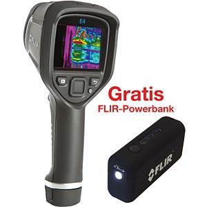Thermal imaging camera FLIR E4, Bundle with free Power Bank, ECC FLIR 63901-0101
