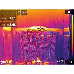 Wärmebildkamera E95, MSX®, -20 °C ... 120 °C / 0 °C ... 1500 °C FLIR 78502-0301