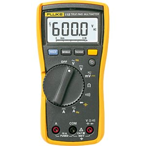 Multimeter 115, digital, 6000 Counts, TRMS FLUKE 2583583