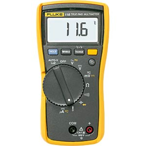 Multimeter 116, digital, 6000 Counts, TRMS FLUKE 2583601