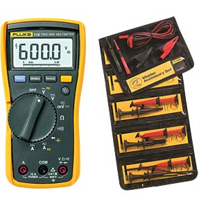 Multimeter 115 PROMO, digital, 6000 Counts, TRMS FLUKE 4759465